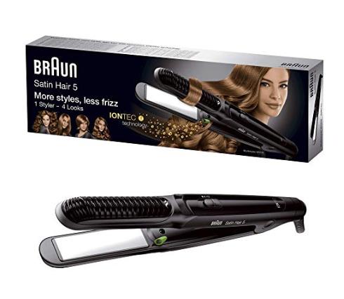 مكواة شعر براون ساتين 5 ملتي ستايلر .. أفضل أنواع مكواة الشعر