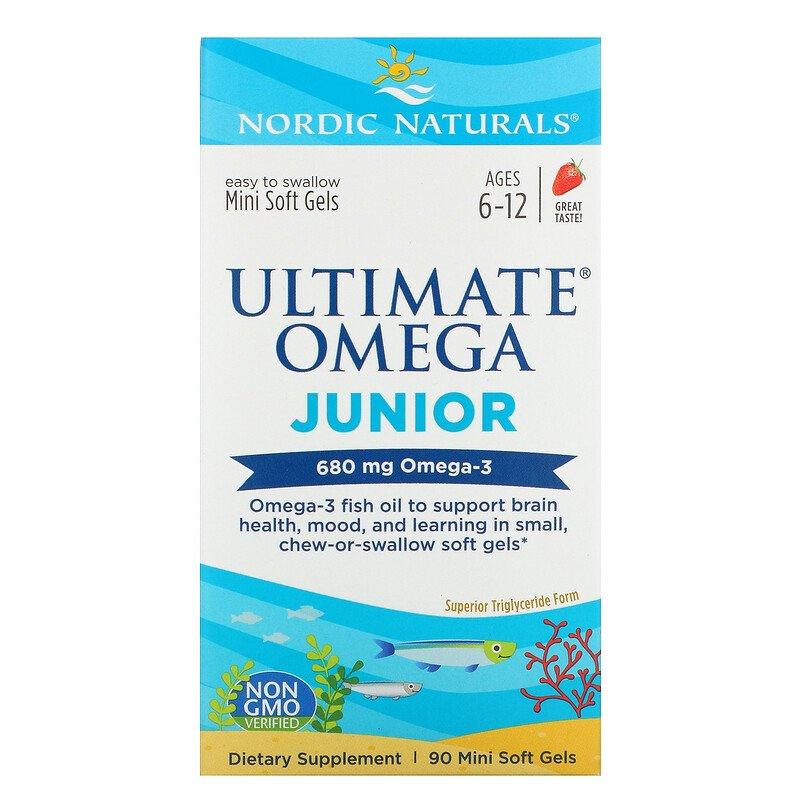 «Nordic Naturals» أفضل فيتامينات الأطفال